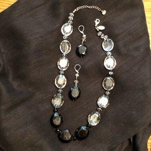 White House Black Market Necklace/ Earring set